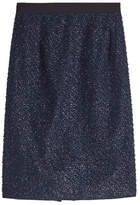 Steffen Schraut Pencil Skirt with Metallic Flecks