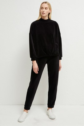 French Connection Renata Corduroy Jersey Joggers