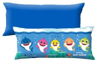 Baby Shark Extra Large Body Pillow, Soft Plush Microfiber, 4-Feet Long