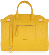 Furla Alice Saffron Yellow Large Bag