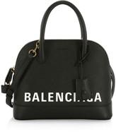 Balenciaga Ville Top Handle Leather Bag