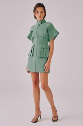 C/Meo LOYALTY DRESS Sage