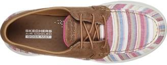 Skechers Go Walk Lite Boat Shoe - Natural
