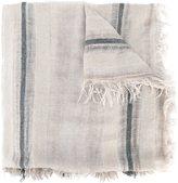 Faliero Sarti fringed striped scarf