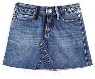 Tommy Hilfiger Junior Logo Denim Skirt