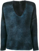 Avant Toi wide neck jumper