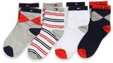 Tommy Hilfiger Final Sale- Fun Socks 4pk