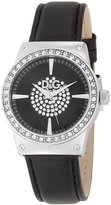 Dolce & Gabbana Women's SUNDANCE DW0527 Leather Quartz Watch with Silver Dial