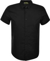Versace Short Sleeved Shirt Black