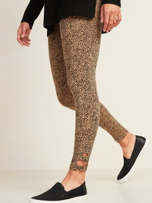 Old Navy High-Waisted Jersey Side-Knot Leggings for Women