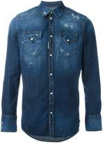 DSQUARED2 distressed denim shirt