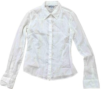Abercrombie & Fitch White Cotton Top for Women