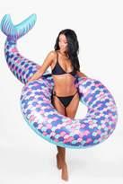 boohoo Mermaid Tail Pool Float