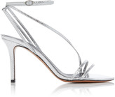 Isabel Marant Axee Snake-Effect Leather Sandals