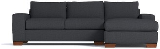 Apt2B Melrose 2pc Sectional Sofa RAF in CHARCOAL