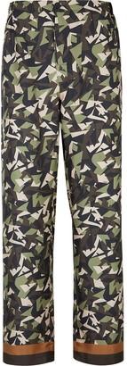 Fendi Camouflage Pyjama Trousers