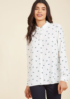 Favorable Forecast Long Sleeve Top in 8 (UK)