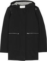 Maje Etrange textured cotton-blend coat