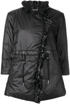 Twin-Set cropped sleeves puffer jacket - women - Polyamide/Polyester - 46
