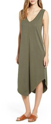 Caslon Knit Tank Midi Dress