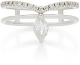 Ila Phoenix 14K White Gold And Diamond Ring