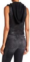 Doma Moto Vest with Detachable Hood