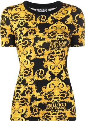 Versace Jeans Couture baroque-print T-shirt