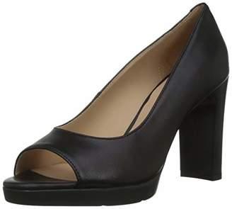 Geox Women D Annya High Sandal D Open Toe Heels, Black (Black C9999)