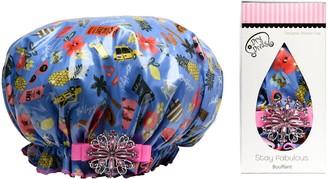 Dry Divas Bouffant-Style Designer Shower Cap