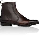 Bally Lausanne Brushed Calf Leather Zip Boot