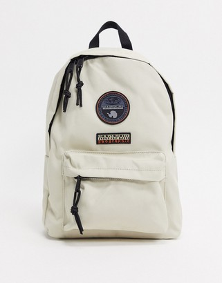 Napapijri Voyage Mini Backpack in light gray