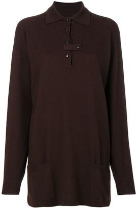 Jc De Castelbajac Pre Owned Oversized Tunic Sweater