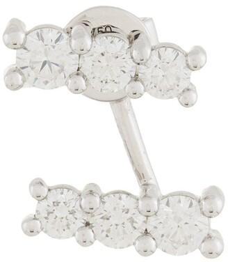 Alinka 18kt white gold LARA diamond right earring