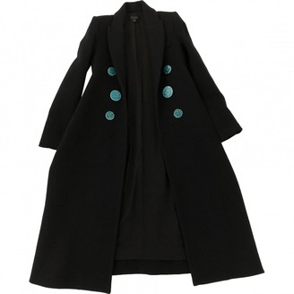 Ellery Navy Wool Coat for Women