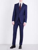 HUGO BOSS Slim-fit wool and silk-blend suit