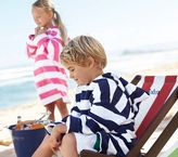 Pottery Barn Kids Rugby Stripe Cover Ups