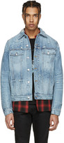 Amiri Blue Shotgun Denim Trucker Jacket