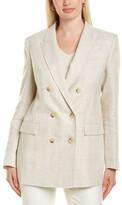 Lafayette 148 New York Slade Linen Jacket