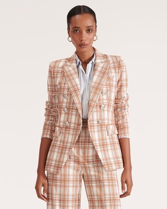 Veronica Beard Miller Plaid Dickey Jacket