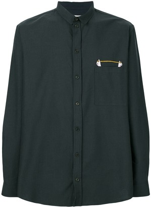 Henrik Vibskov zipped pocket shirt