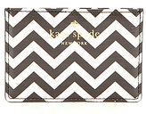 Kate Spade Market Street Collection Chevron Card Holder