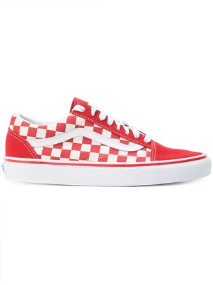 Vans checkered lace-up sneakers