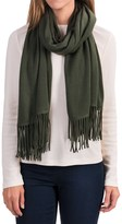 "Portolano Cashmere Wrap Scarf - 22x80"" (For Women)"