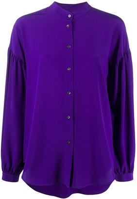 Aspesi Band Collar Shirt