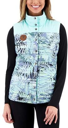 Obermeyer Mila Down Vest (Black) Women's Clothing