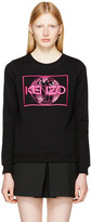 Kenzo Black World Logo Sweatshirt