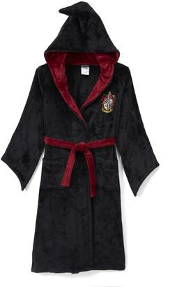 Intimo Sleep Robes Black - Harry Potter Wizard Cloak Bathrobe - Kids