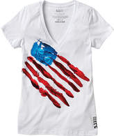 5.11 Tactical Women's Feather Flag Tee