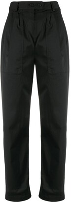 Nili Lotan Turn Up Cuff Trousers