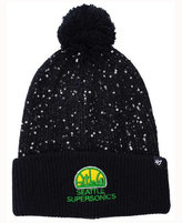 '47 Women's Seattle SuperSonics Hardwood Classics Glint Knit Hat